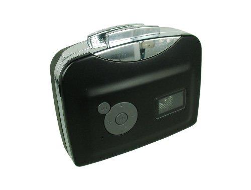 カセットテープ USB変換プレーヤー カセットテープデジタル化 MP3コンバーター カセットテープのプレーヤーとしても使えます。MP3の曲を自動分割!
