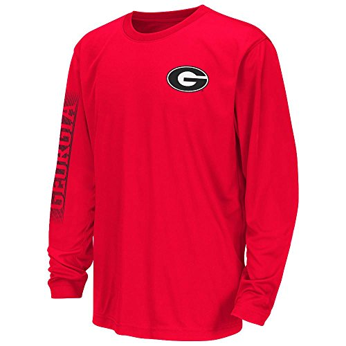 Youth NCAA Georgia Bulldogs Long Sleeve Tee Shirt (Team Color) - L (Youth Georgia Bulldog Shirts compare prices)