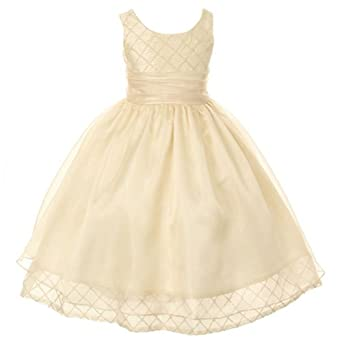 amazoncom kids dream toddler girls 2t champagne double