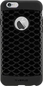 iPhone 6 Back Cover, Slim fit Rugged TPU Back Case cover for Apple iPhone 6 (Black) - By Jackal