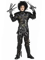 Hot Sale Edward Scissorhands Costume, Black, Standard