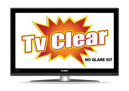 TV CLEAR: NO GLARE WINDOW SHADE KIT - NO MORE GLARE ON YOUR SCREEN!