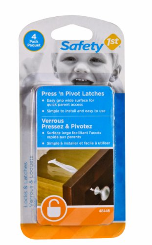 Safety 1st 4 Pack Press n' Pivot Latch - 1