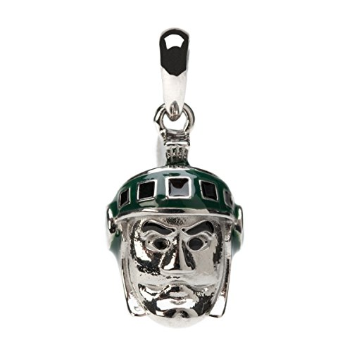 Michigan State Sparty 3-D Dangle Bead Charm - Fits Pandora & Others