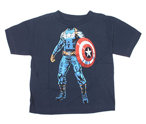 [Captain America Winter Soldier Uniform Boys T-Shirt Tee (XX-Large, 18)] (Captain America Uniform)