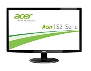 Acer S242HLCBID 60,1 cm (24 Zoll) Monitor (VGA, DVI, HDMI, 2ms Reaktionszeit) schwarz