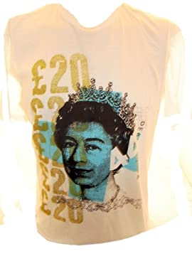 20 Pounds (the band) Mens T Shirt - The Queen Image