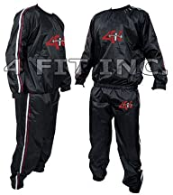 4Fit Heavy Duty Sweat Suit Sauna Exer…
