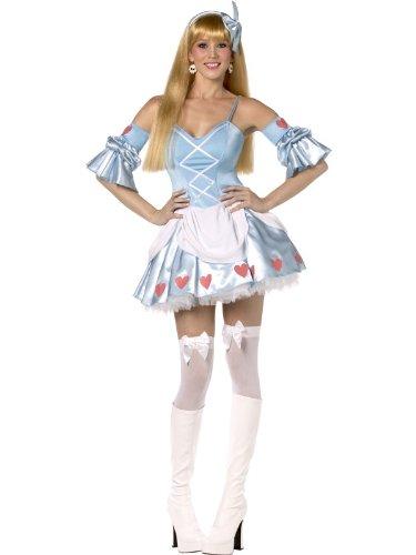 Sexy Alice in Wonderland costume.