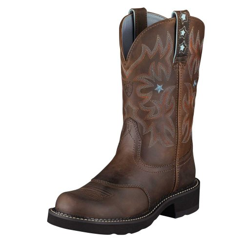 Ariat ProBaby Women's Western Boot Driftwood Brown, 7.5