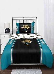 NFL Jacksonville Jaguars Bedding Set, Twin by Northwest