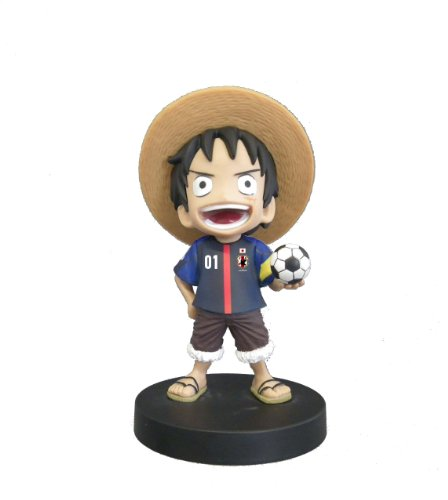 Bobbing Head ONE PIECE Series - Monkey D. Luffy [Japan National Football Team 2012 Ver.] (japan import)