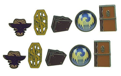 Fantastic Beasts 5 Pack Earring Set