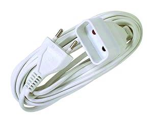 Voltman VOM530463 Prolongateur Rallonge électrique 6A 2 G0 75 10 m