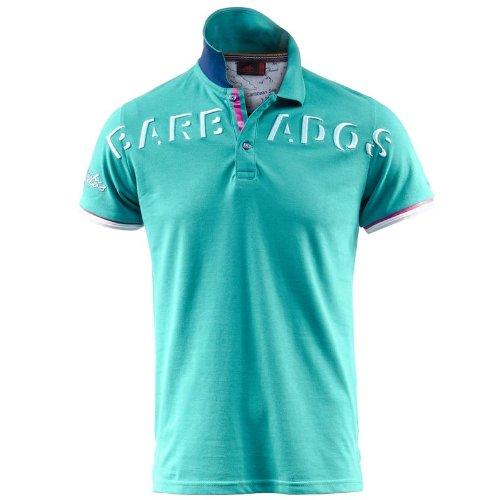 Polo - Bikon - DkTurquoise-Barbados - S