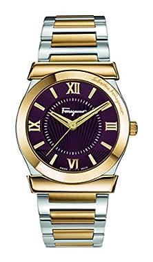 buy Salvatore Ferragamo Men'S 'Vega' Quartz Stainless Steel Casual Watch (Model: Fi0030015)