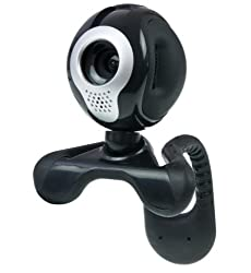 Kinobo USB Webcam for Laptop/LCD screen/Desktop 5 Megapixel + USB Microphone