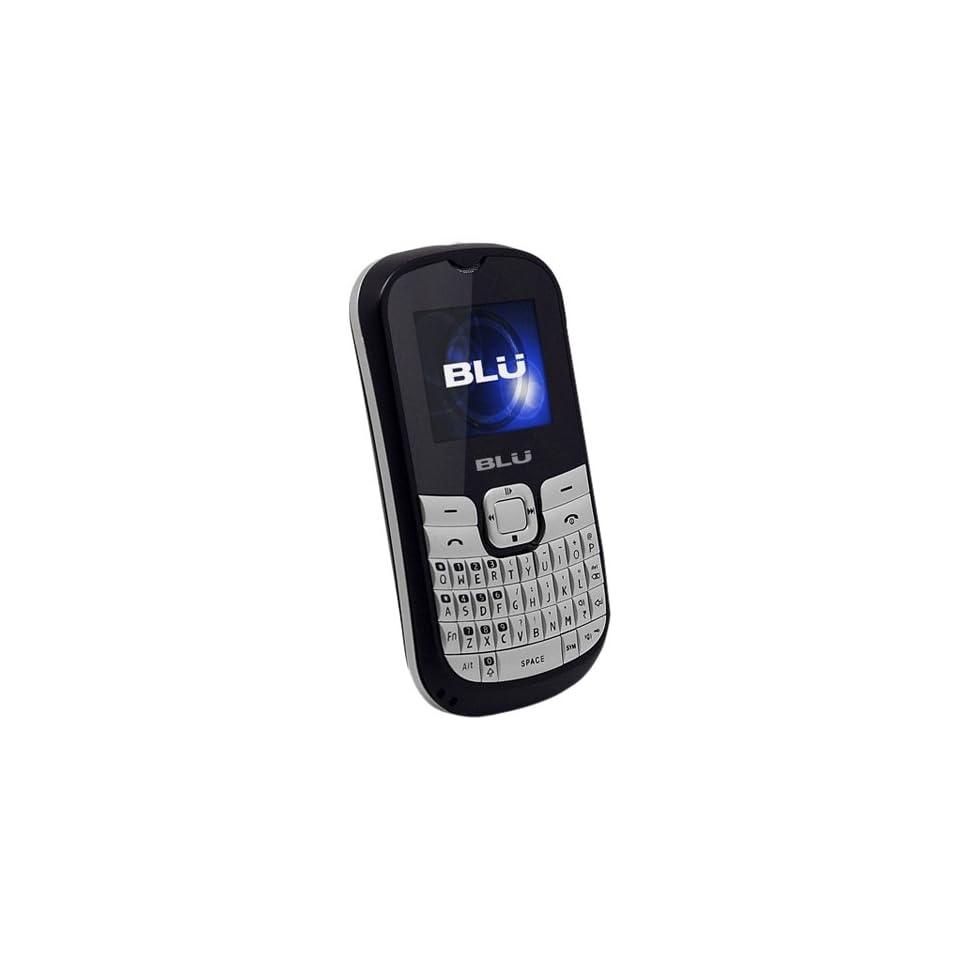 BLU Q160 Deejay II   Unlocked Phone   US Warranty   Retail Packaging   Black/Silver