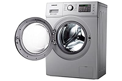 Samsung WF602B2BHSD/TL Fully-Automatic Front-Loading Washing Machine (6 Kgs, Silver)