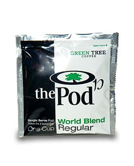 The Pod, 1-Cup Coffee Pods - World Blend (Regular) 108 Pods