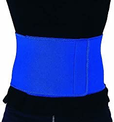 HealthIQ Free Size Adjustable Sauna Slimming Waist Belt Fitness Body Shaper Support an...