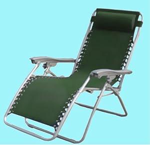 Sedia sdraio da giardino pieghevole in acciaio e tessuto traspirante sedie a sdraio pieghevole - Sedie sdraio da giardino ...