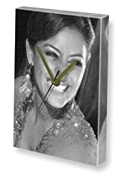 LAILA ROUASS - Canvas Clock (LARGE A3 - Signed by the Artist) #js001