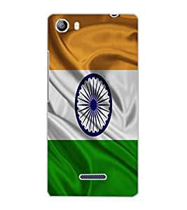 MICROMAX CANVAS 5 FLAG Back Cover by PRINTSWAG