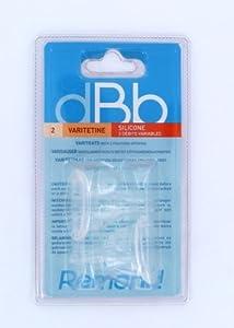 dBb Remond Blister 2 Varitétine - Silicone - 3 Positions et Régulateurs d'air