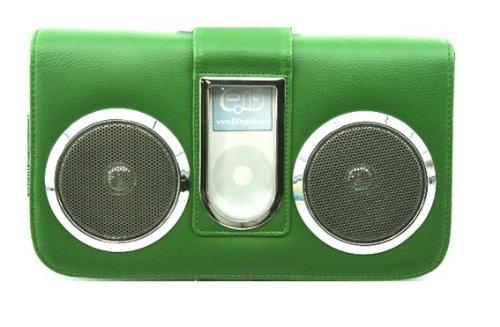 Stereo Speakers Case, For Ipod, Mini, Nano Mp3