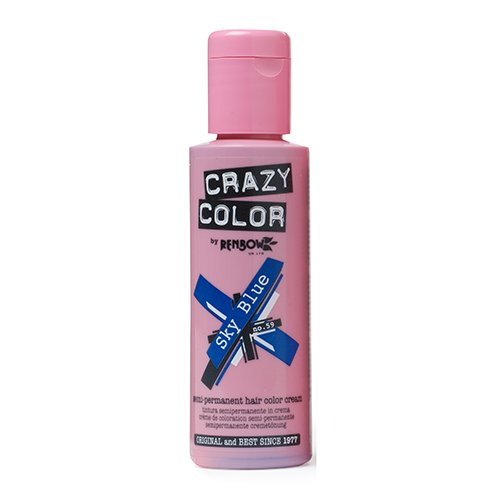Renbow Crazy Color No.59 Sky Blue Semi-Permanent Cream 100ml