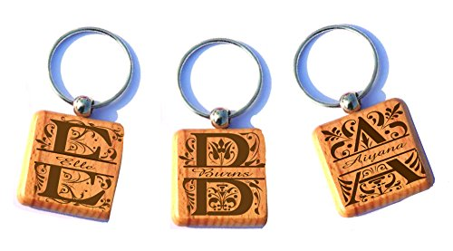 engraved-personalized-customized-split-monogrammed-wood-key-chain