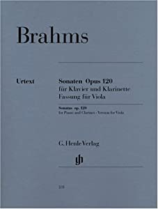 Sonatas For Piano And Clarinet Or Viola Op 1201 U 2 - Version For Viola - Piano And Viola - Hn 231 from G. Henle Verlag