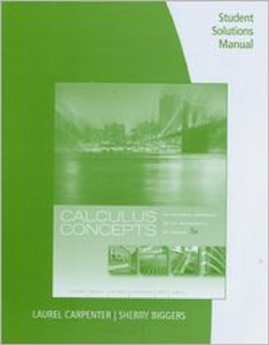 Student Solutions Manual for...