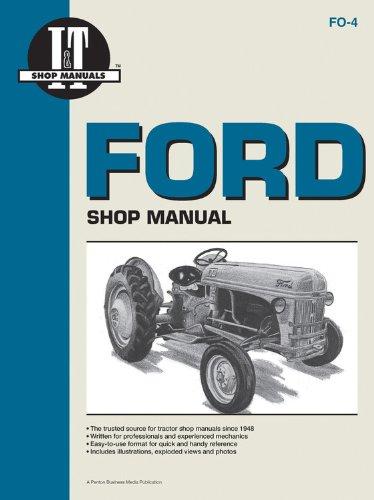 Ford Shop Manual Series 2N 8N & 9N (9n Ford Owners Manual compare prices)