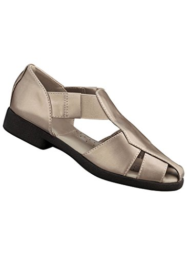 Amerimark Women'S Adult Haley Synthetic 9 Narrow Us Women / Champagne front-943071