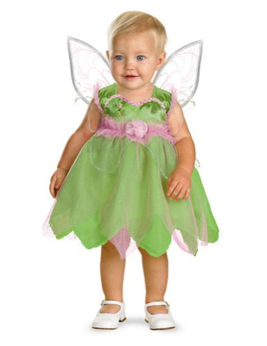 Baby-Toddler-Costume Tinker Bell Toddler Costume 12-18 Mths Halloween Costume