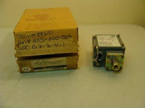 Square D Gdw-6 Pressure Switch 480Vac 10Amp