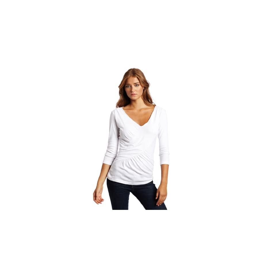 Three Dots Womens Long Sleeve Tie Front Cardigan