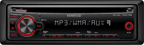 Kenwood Kdc-152 In-Dash Mp3/Wma Cd Receiver front-1023701