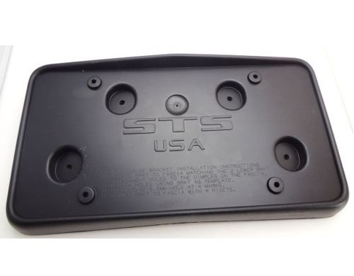 CADILAC STS LICENSE PLATE BRACKET 2008 THRU 2011 (Cadilac License Plate Frame compare prices)