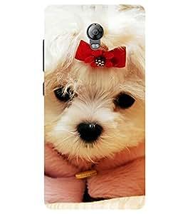 Chiraiyaa Designer Printed Premium Back Cover Case for Lenovo Vibe P1 (dog puppy cute) (Multicolor)