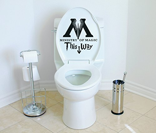 Harry Potter Toilet Decor