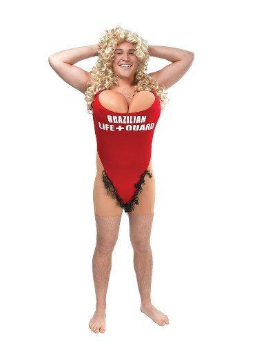 Lifeguard Baywatch Pamela Anderson Fancy Dress Costume