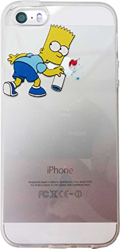★ LCD protective film with ★ The Simpsons iPhone5/5 s case Type L (Bert) clinches anime Apple Apple Simpsons スマホケース iPhone 5 iPhone 5 iPhone case s