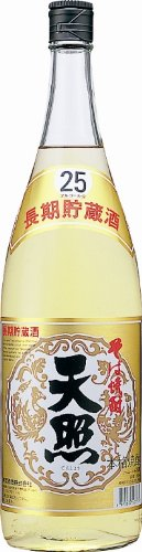 神楽酒造 天照 そば 長期貯蔵酒 25度 瓶 1800ml