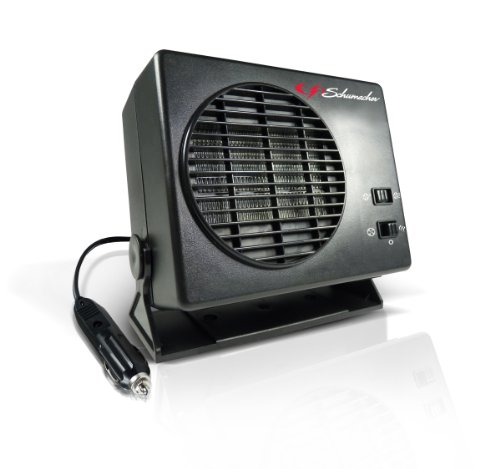 Schumacher 1224 12V 235W/150W Ceramic Heater and Fan (Dc Fan 12v compare prices)