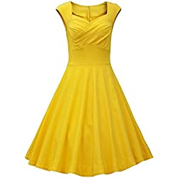 JAEDEN - Vestido Amarillo