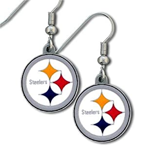 NFL Pittsburgh Steelers Dangle Earrings