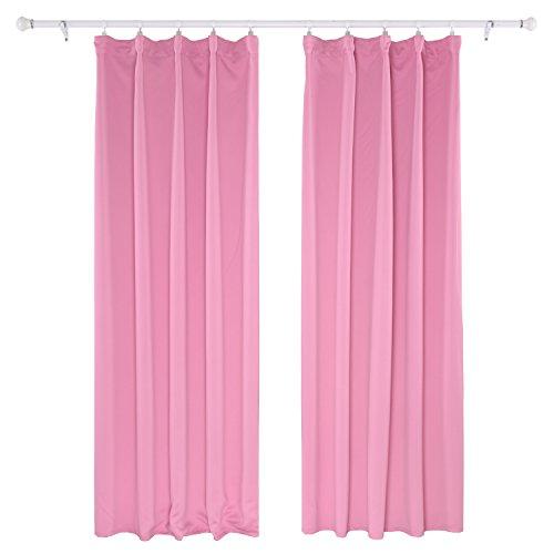 Deconovo cortinas para el hogar opaca cortinas blackout for Como blanquear cortinas
